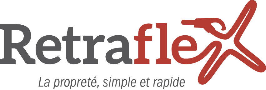 Logo de l'aspiration rétraflex.