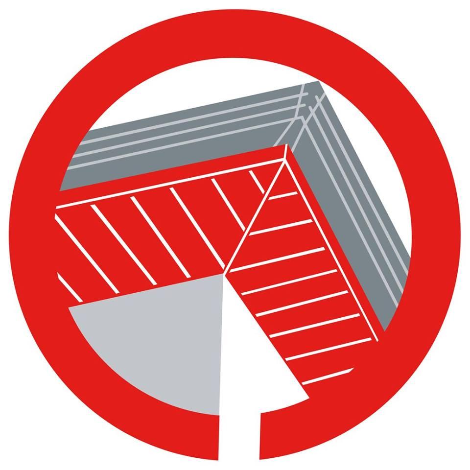 rond représentant l'habillage des dessous de toit (sous-faces)